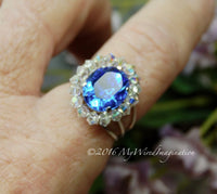 Crystal Halo Ring Tutorial, Beginner Wire Wrap Ring Tutorial