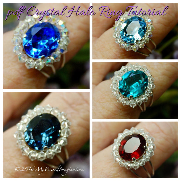 Crystal Halo Rings Tutorial