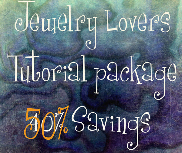 Wire Jewelry Lovers Tutorial Special, Get ALL 27 Tutorials, 48 Patterns and Variations