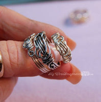 Knot Rings by Bobbi Maw
