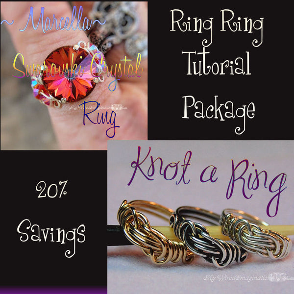 Ring Ring 2 Intermediate Rings Tutorial Package 2 Tutorials 25% Discount