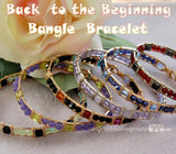Back to the Beginning, Wire Wrap Beginner Bangle Bracelet Tutorial