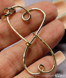 Treasured Hearts Charm Holder Pendant Tutorial, Wire Wrap Jewelry Tutorial