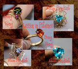 DIY Prong Rings, Jewelry Tutorial Package, Fancy Band & Lesson in Patience, 20% Discount