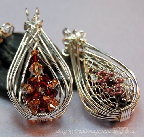 2 hinged cages and a locket wire wrap pendant tutorial my wired 2 hinged cages and a locket wire wrap pendant tutorial mozeypictures Image collections