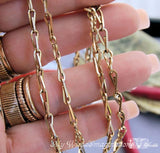 Old Fashioned Chain, Wire Wrap Jewelry Tutorial
