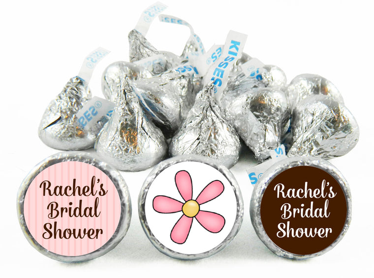 Daisy Bridal Shower Labels for Hershey's Kisses