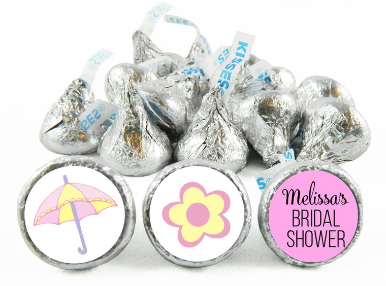 Fun Bridal Shower Labels for Hershey's Kisses