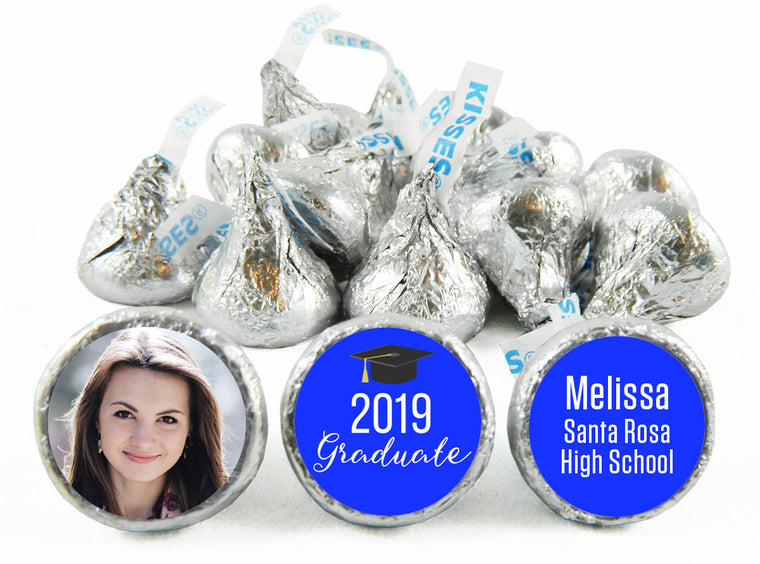 Photo Graduation Labels for Hershey's Kisses