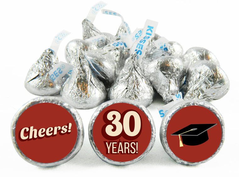 Cheers Reunion Labels for Hershey's Kisses