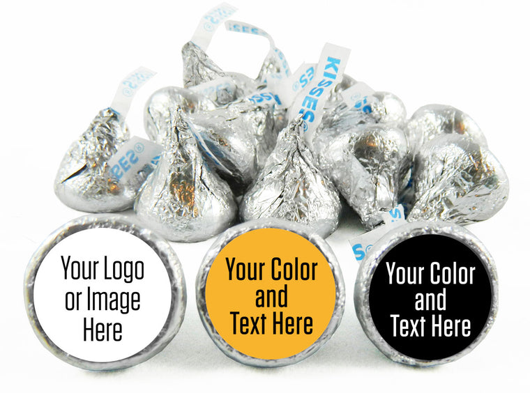 Custom School Reunion Labels for Hershey's Kisses