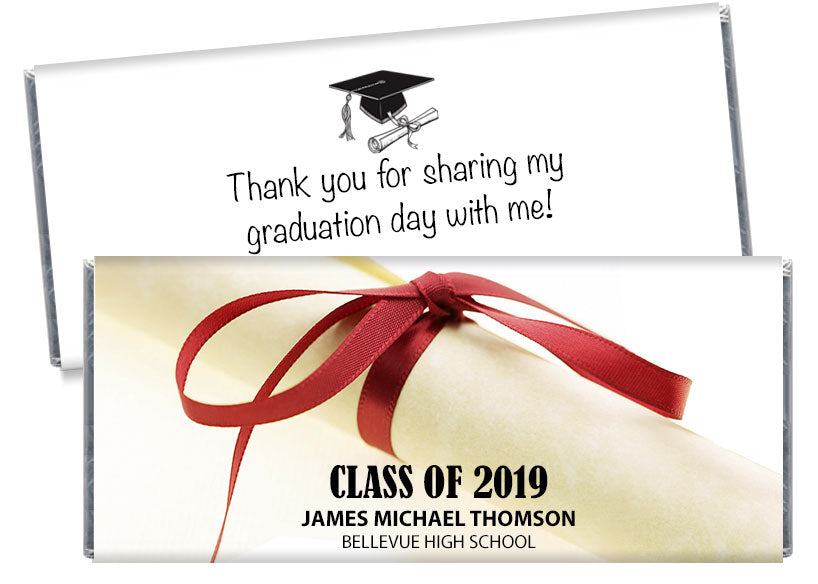 Diploma High School Graduation Candy Bar Wrappers