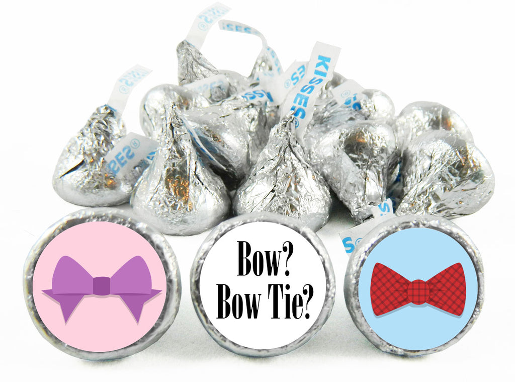 Bow or Bow Tie? Gender Reveal Labels for Hershey's Kisses