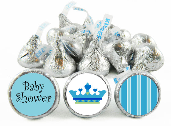 Little Prince Baby Shower Labels for Hershey's Kisses