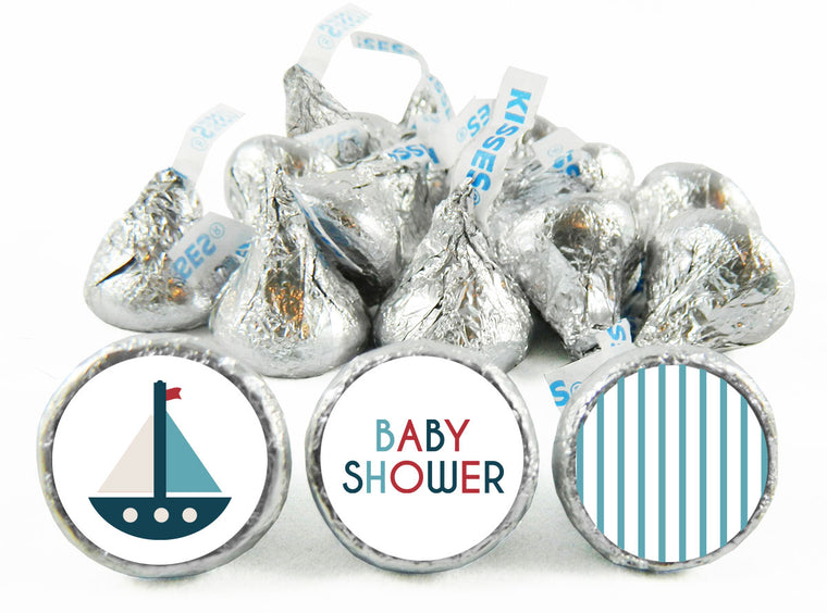 Ship Baby Shower Labels for Hershey's Kisses