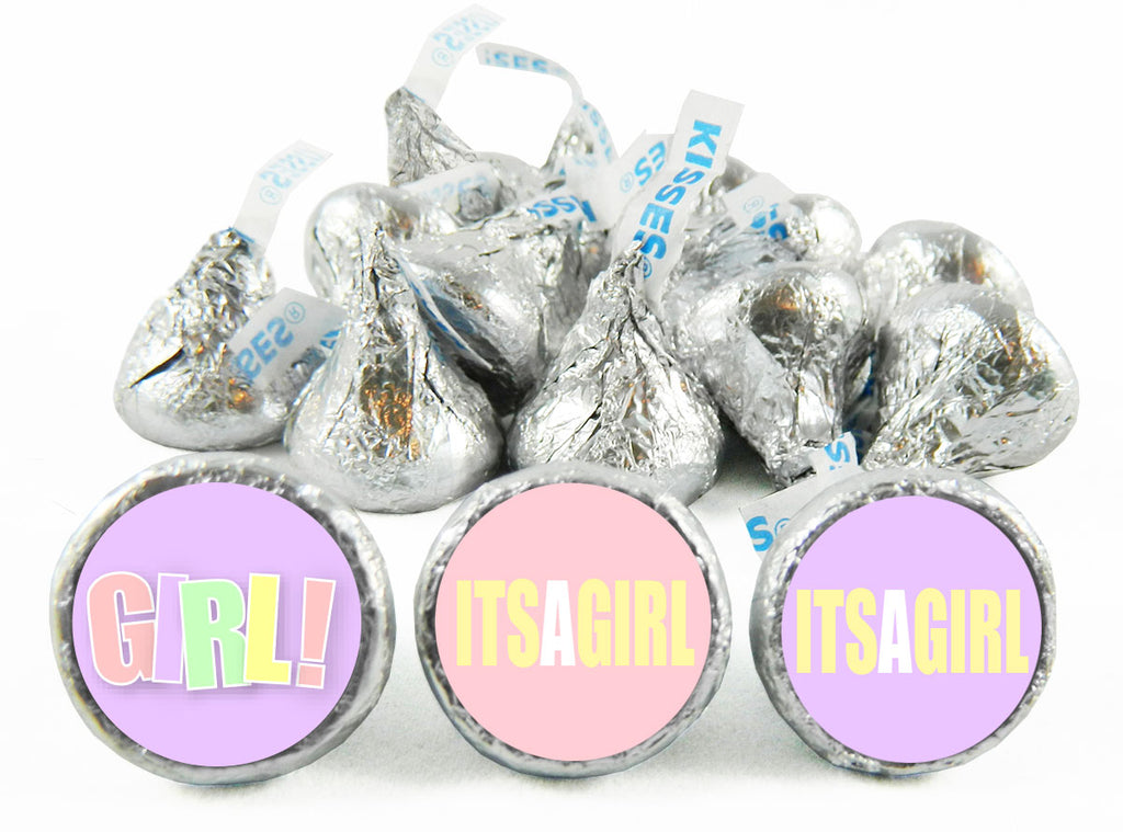 Girl! Labels for Hershey's Kisses