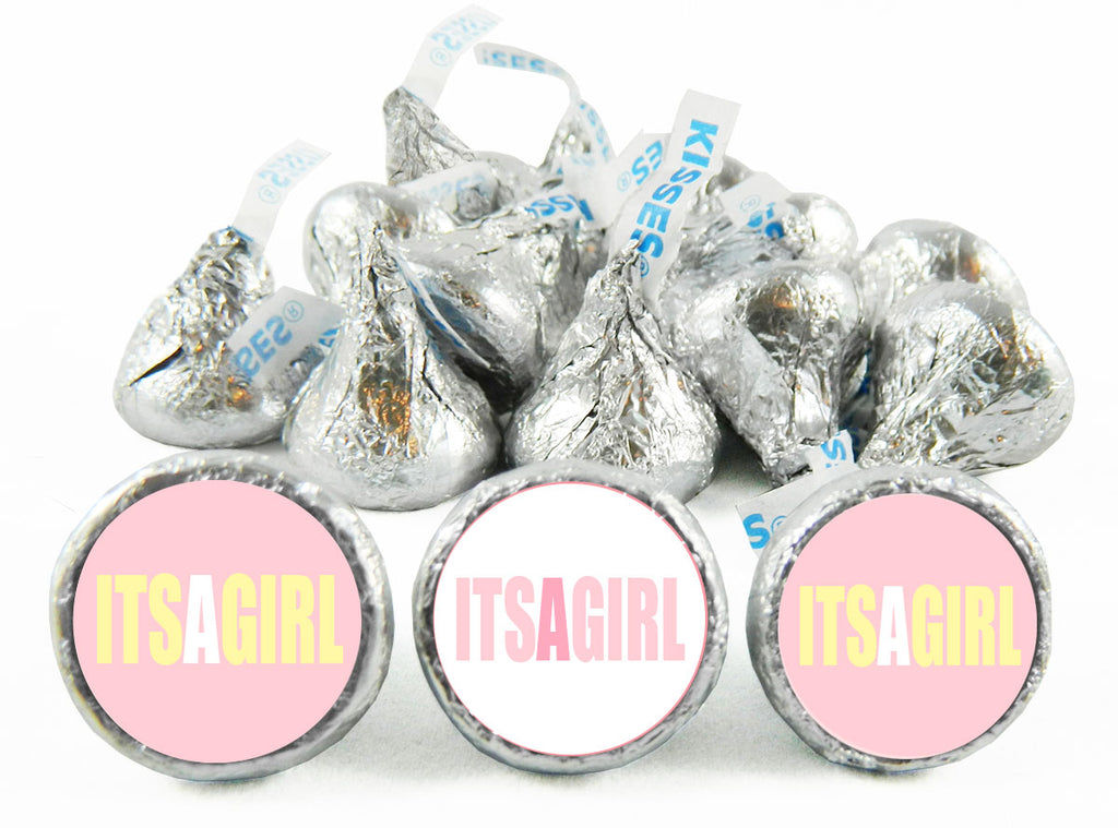It's a Girl! Labels for Hershey's Kisses