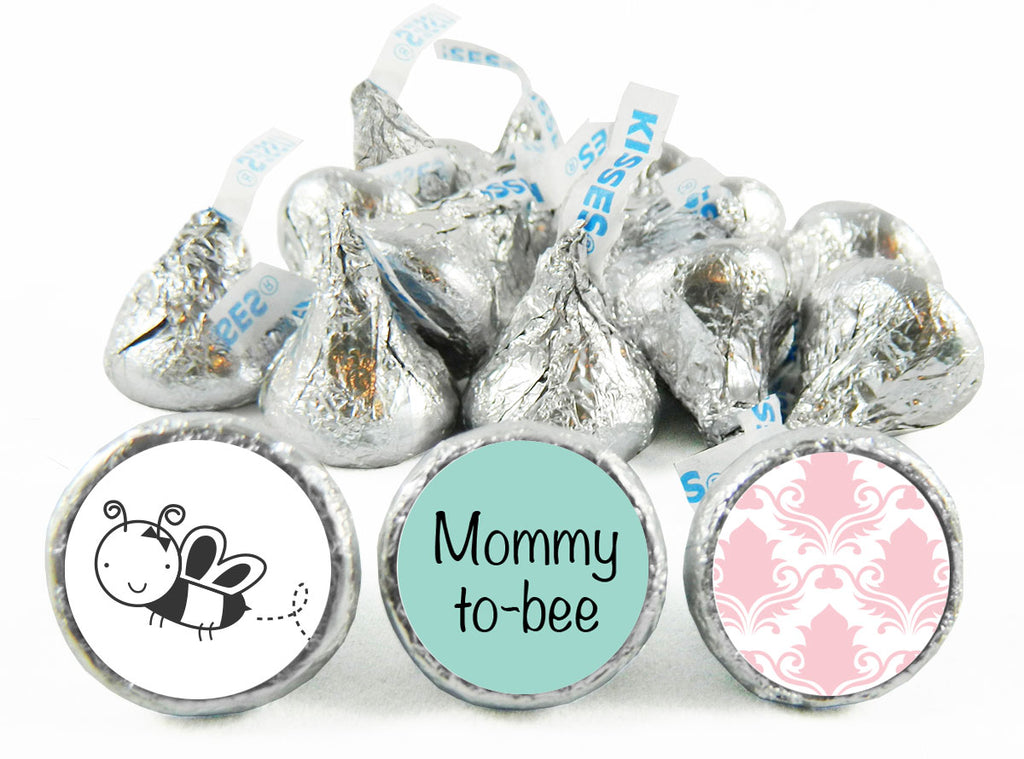 Mommy to Bee Baby Shower Labels for Hershey's Kisses
