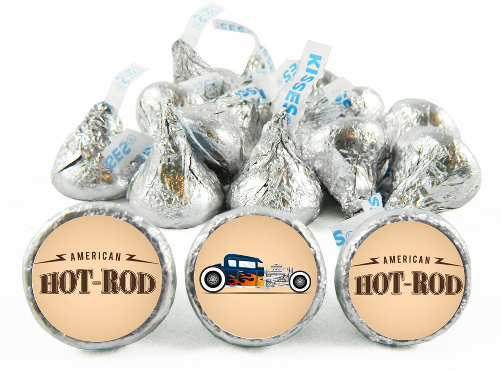 You're a Hot-Rod Birthday Party Labels for Hershey's Kisses