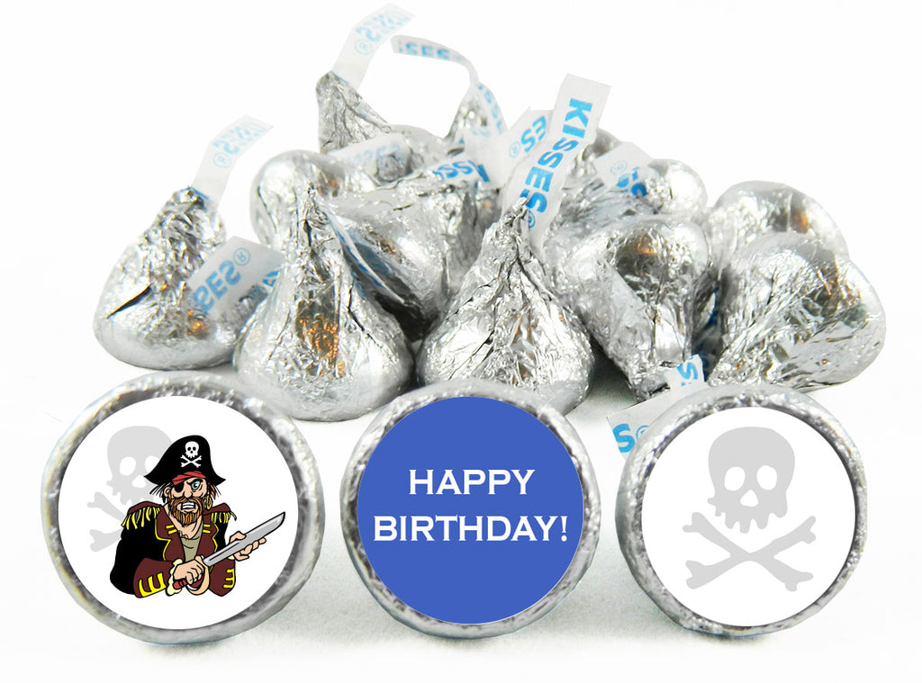Pirate Birthday Party Labels for Hershey's Kisses