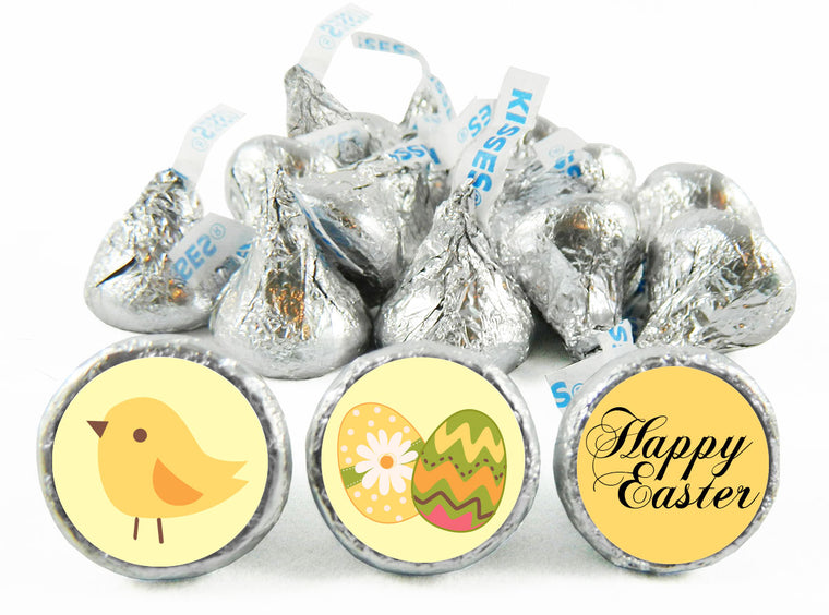 Chick Easter Labels for Hershey's Kisses