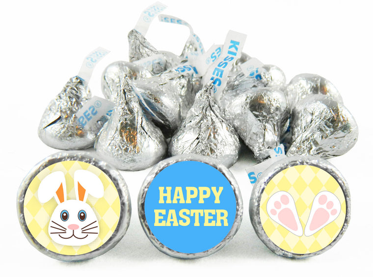 Bunny Feet Easter Labels for Hershey's Kisses