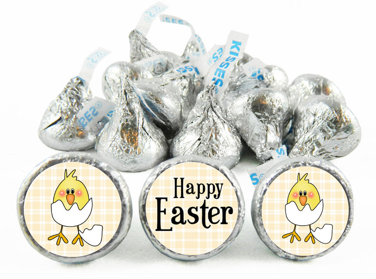 Baby Chick Easter Labels for Hershey's Kisses