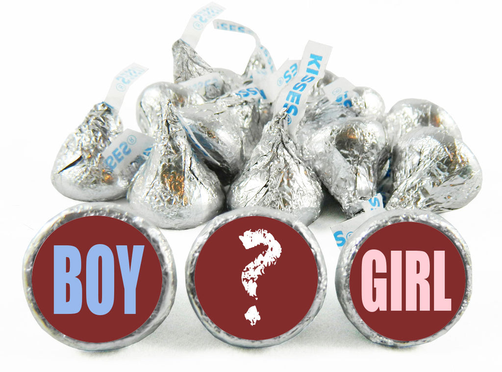 Boy or Girl? Gender Reveal Labels for Hershey's Kisses