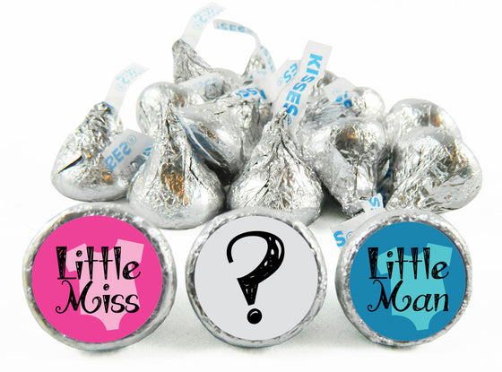 Little Man Little Miss? Gender Reveal Labels for Hershey's Kisses