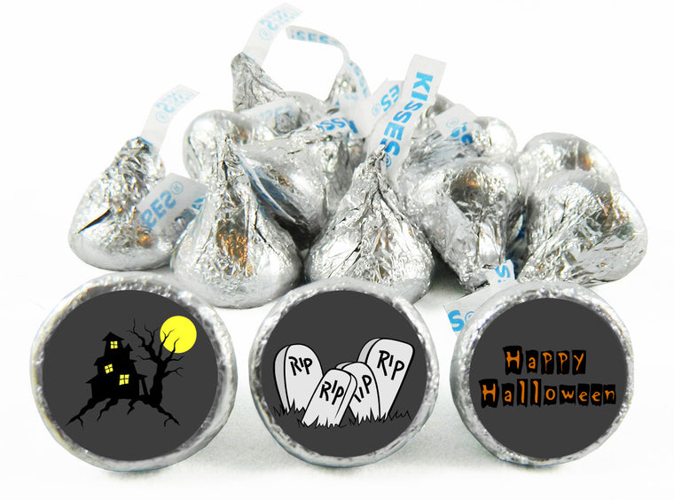 RIP Halloween Labels for Hershey's Kisses