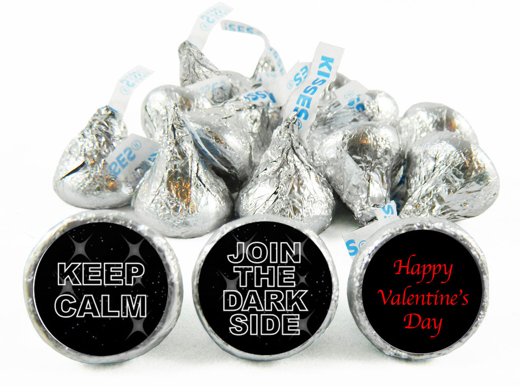 Join the Dark Side Valentine's Day Labels for Hershey's Kisses