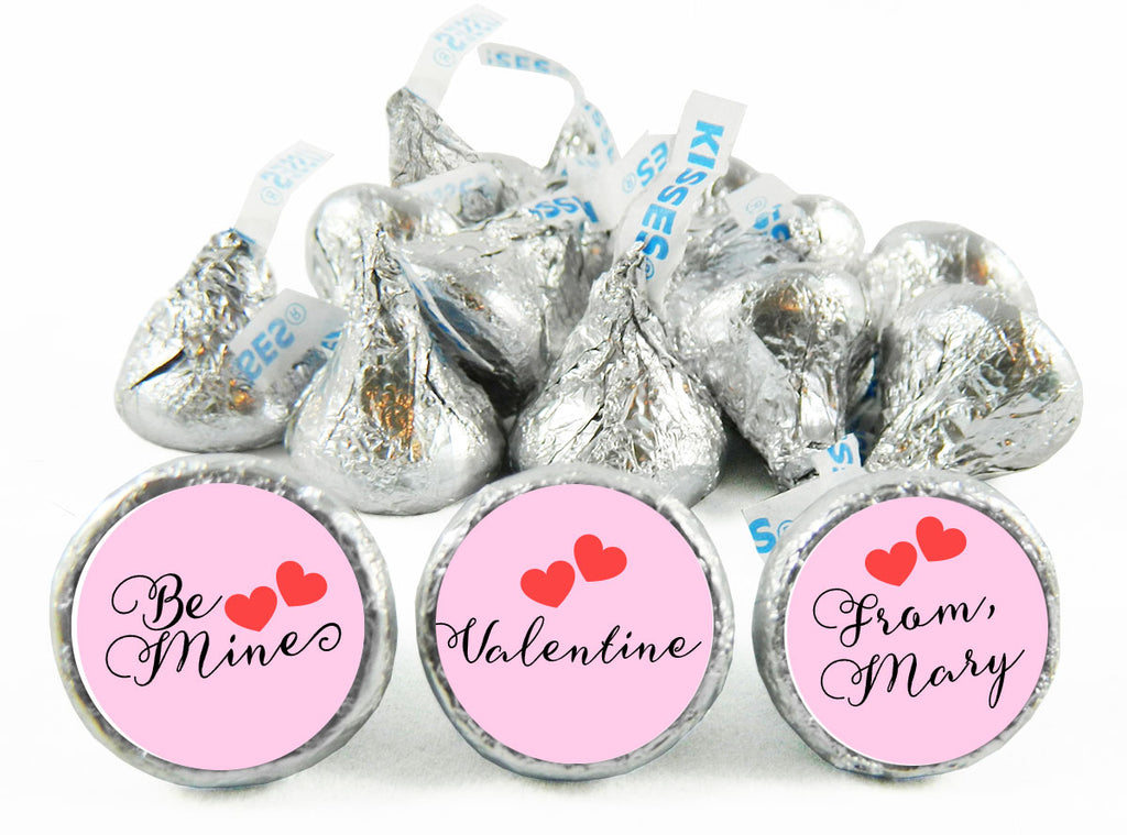 Be Mine Valentine's Day Labels for Hershey's Kisses