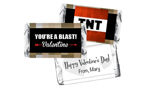 Blast TNT Valentine's Day Mini Bar Wrappers