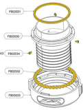 Flyboard ® Hose Bearing Repair Kit