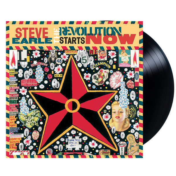 The Revolution Starts Now Vinyl REISSUE