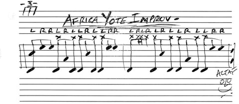 Soul Drums Lessons - Africa Yote Improv
