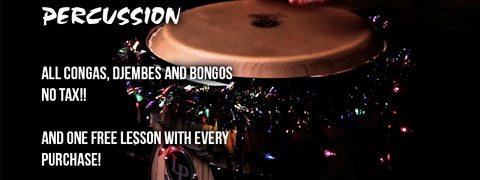 Boxing Day Drum And Perucussion Sales Event Percussion