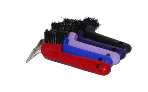 HARLEQUIN HOOF PICK BRUSH