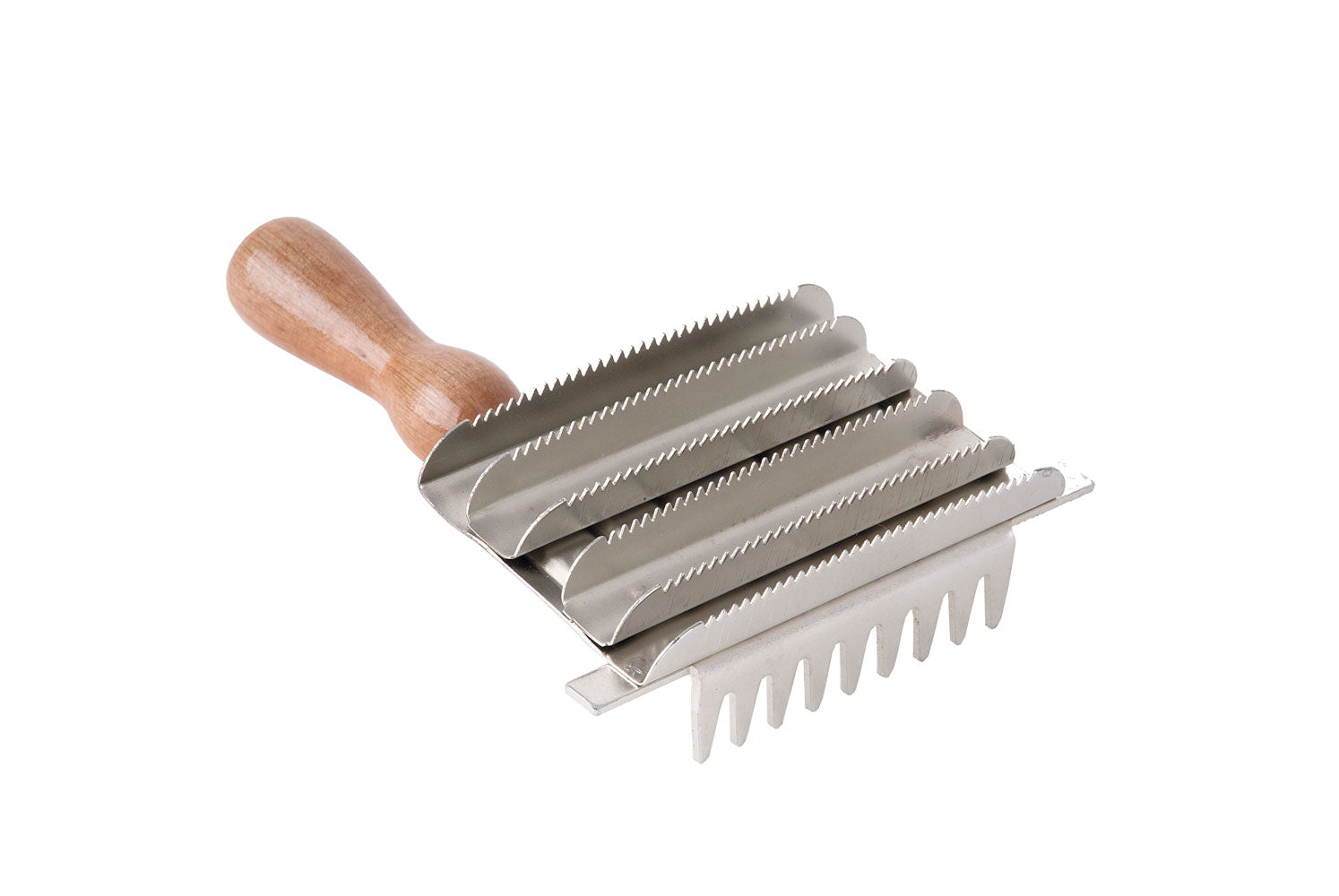 HARLEQUIN METAL CURRY COMB
