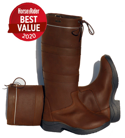 RHINEGOLD ELITE HARLEM WATERPROOF COUNTRY BOOTS