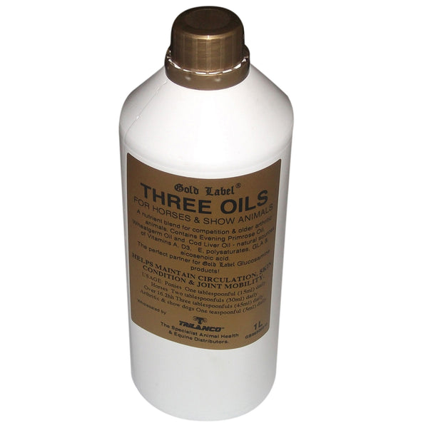 GOLD LABEL THREE OILS