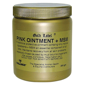 GOLD LABEL PINK OINTMENT + MSM