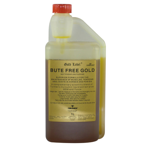 GOLD LABEL BUTE FREE GOLD