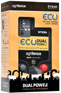 AGRIFENCE DP1230 ECO DUAL POWERR ENERGISER 5J