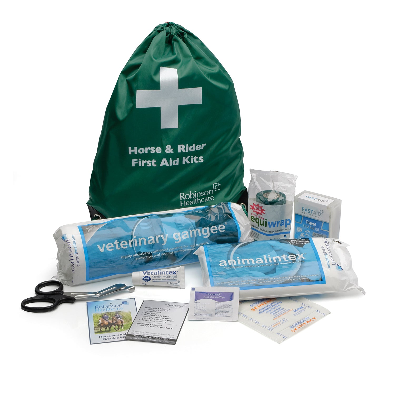 ROBINSONS HEALTHCARE HORSE & RIDER FIRST AID KIT