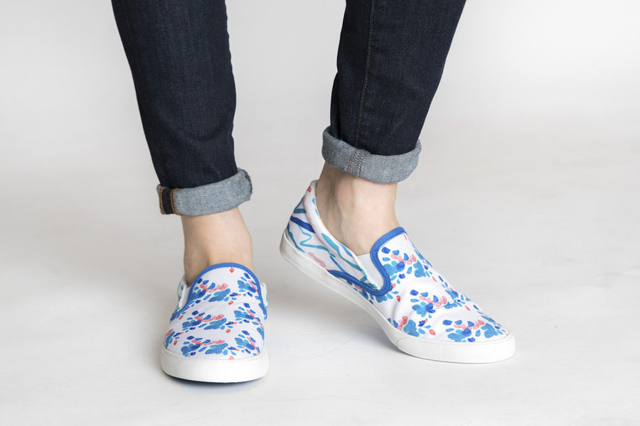 Siloett Footwear Floating Petals Slip On Shoe