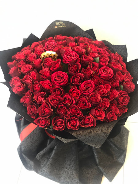 Valentine- Giant 101 Bouquet