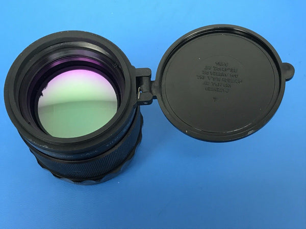 50mm Germanium Variable iris (f/1 to f/4) Thermal Imaging Lens, 8-12um,