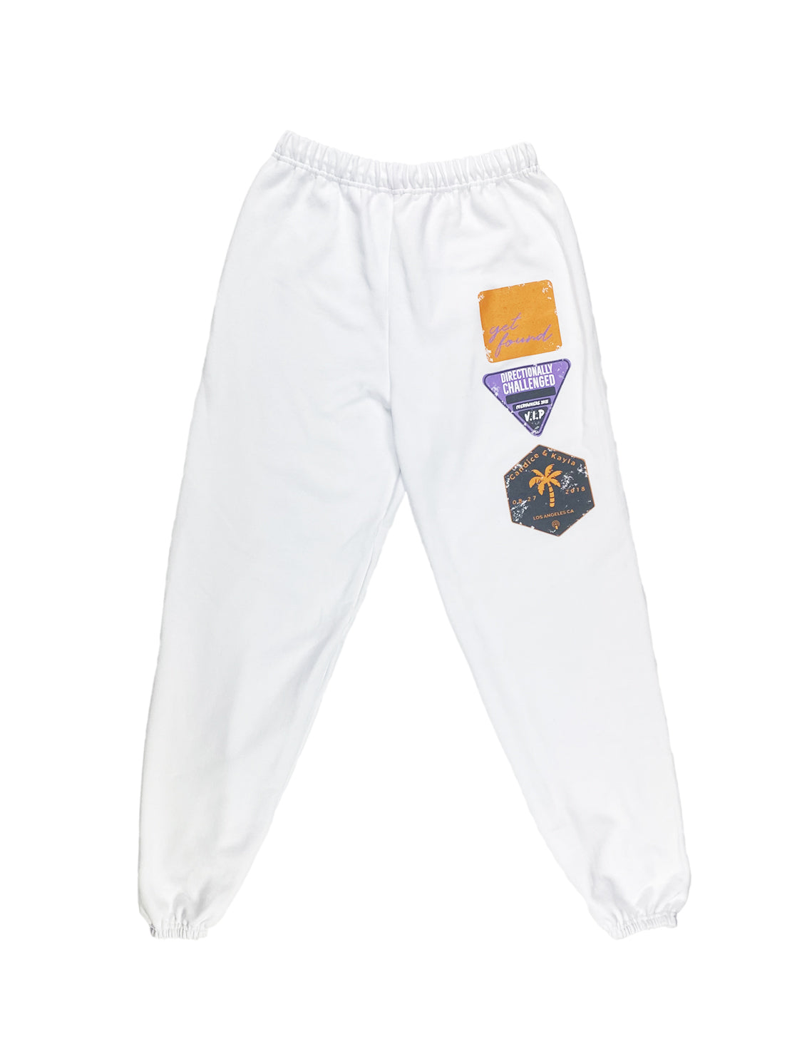 DIRECTIONALLY CHALLENGED TRAVEL SWEAT PANT