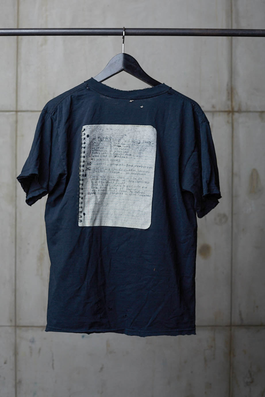 NIRVANA GHOST NOTEBOOK TEE